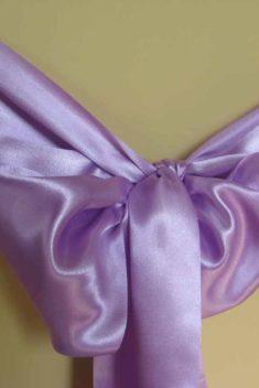 Saténová mašľa lila - evkakvety-eshop.eu
