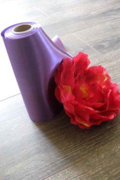 Saténová stuha 26-purpurová - evkakvety-eshop.eu