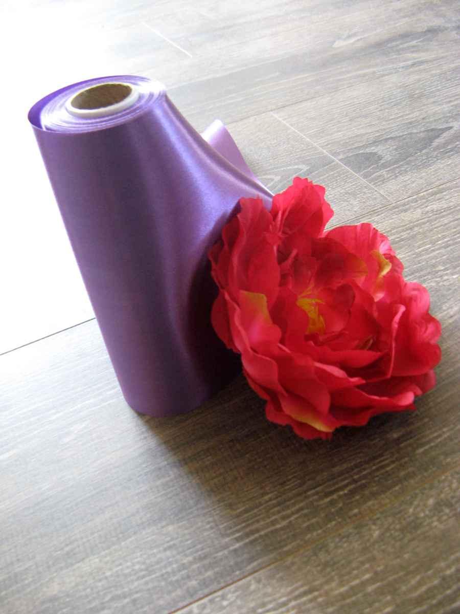 Saténová stuha 26-purpurová – evkakvety-eshop.eu
