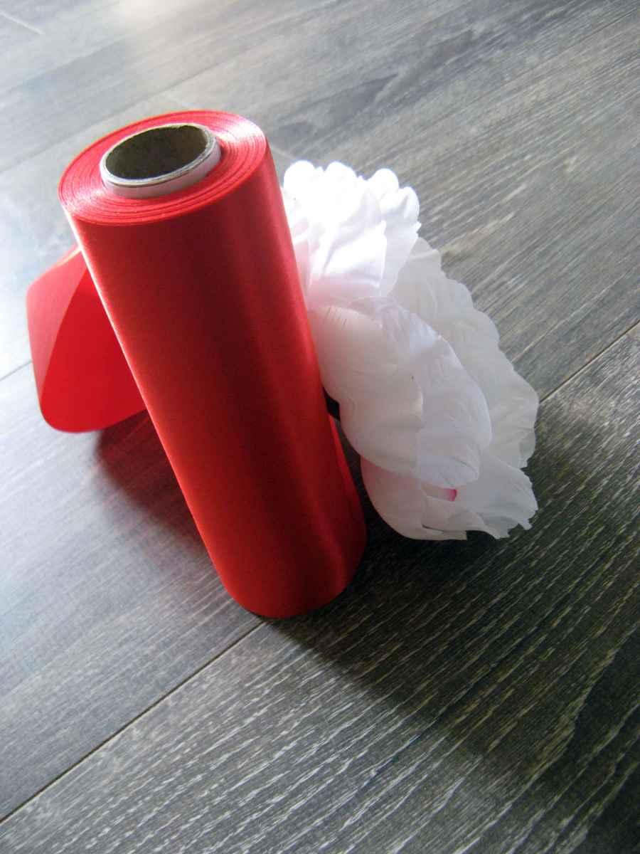 Saténová stuha 28-červená – evkakvety-eshop.eu