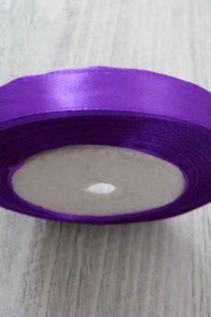 Saténová stuha fialová - Amethyst obr.1 - evkakvety-eshop.eu