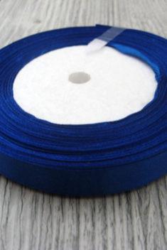 Saténová stuha modrá - Blue - evkakvety-eshop.eu