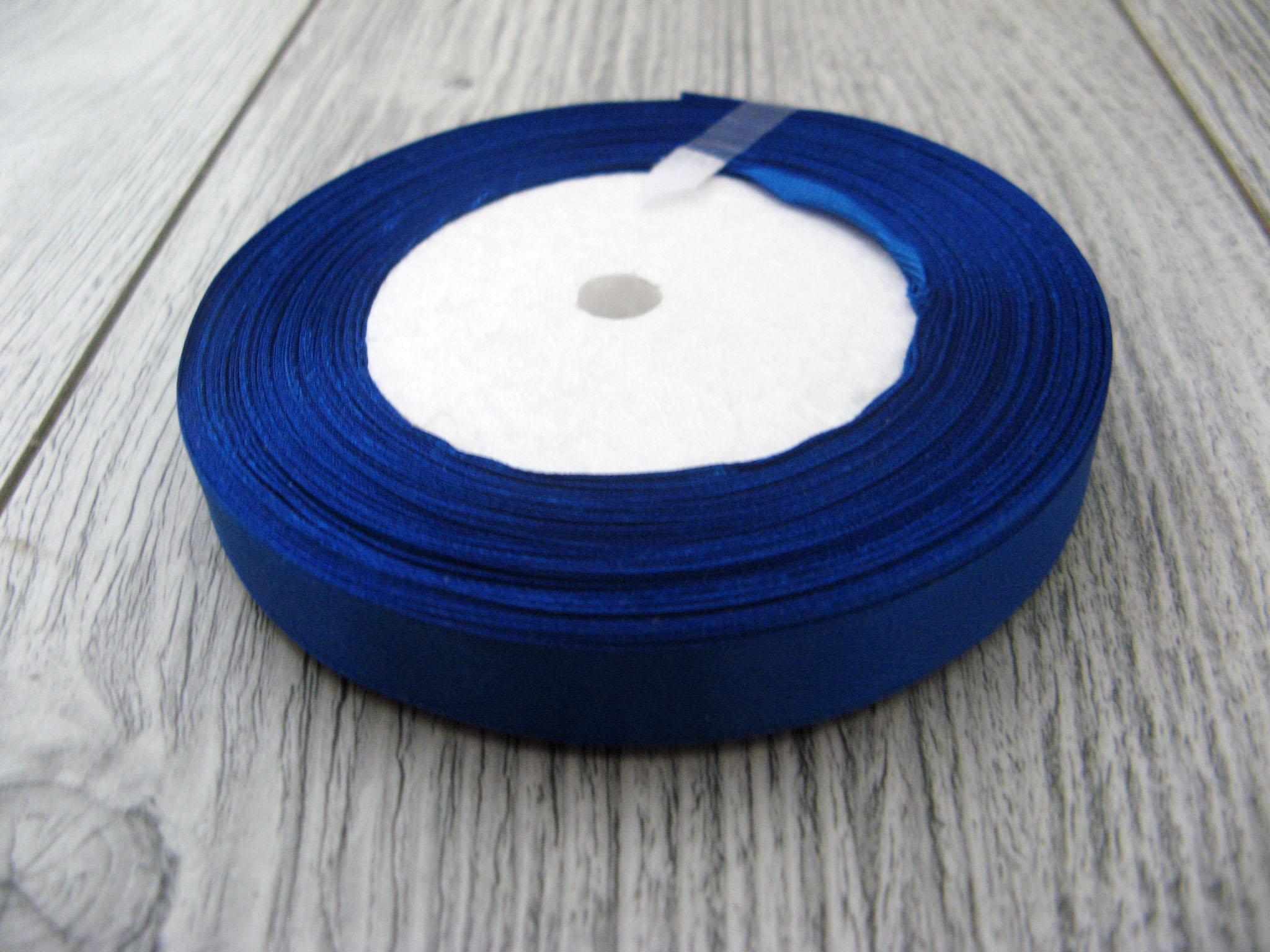 Saténová stuha modrá – Blue – evkakvety-eshop.eu
