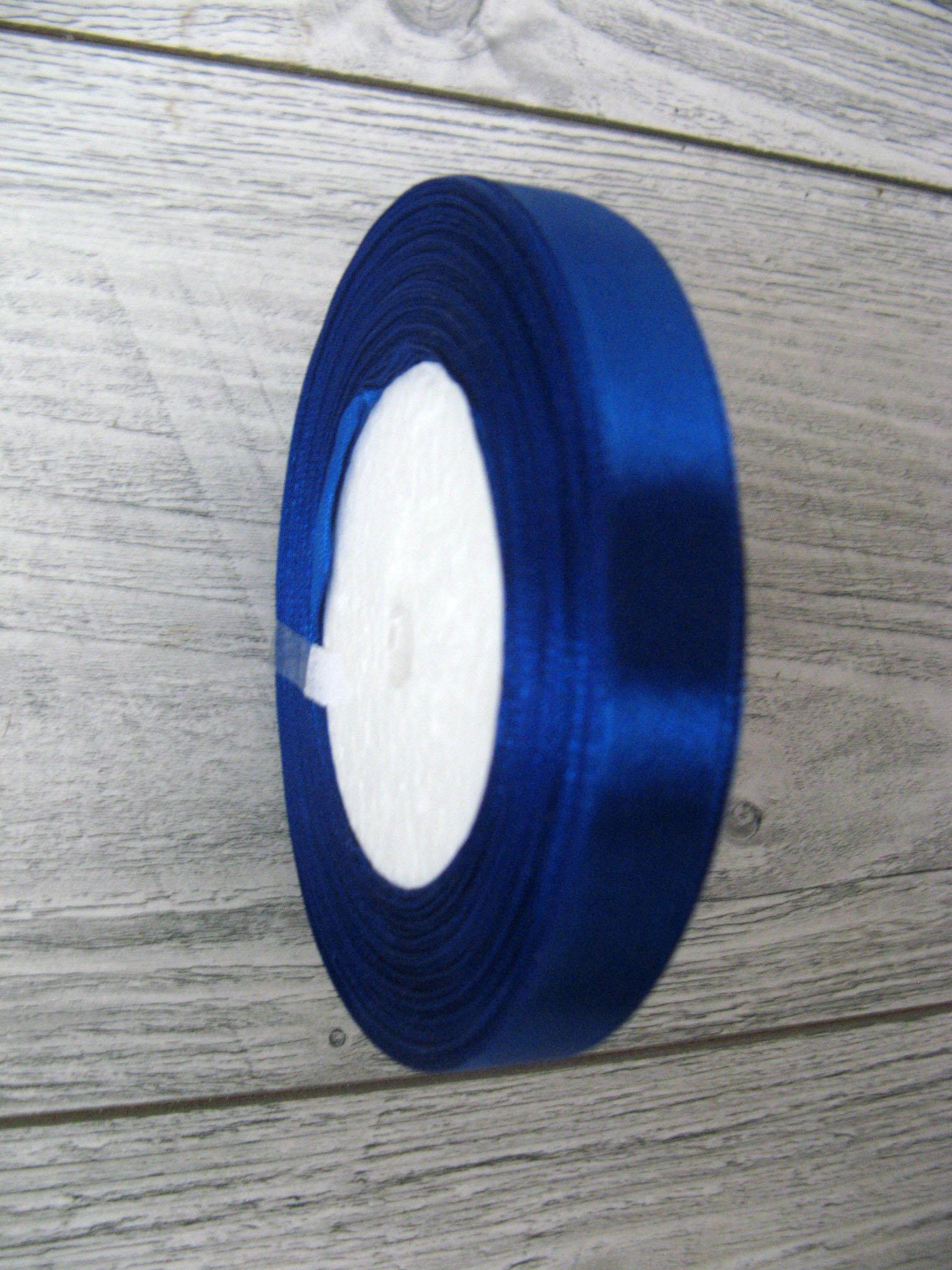Saténová stuha modrá - Blue obr.1 - evkakvety-eshop.eu