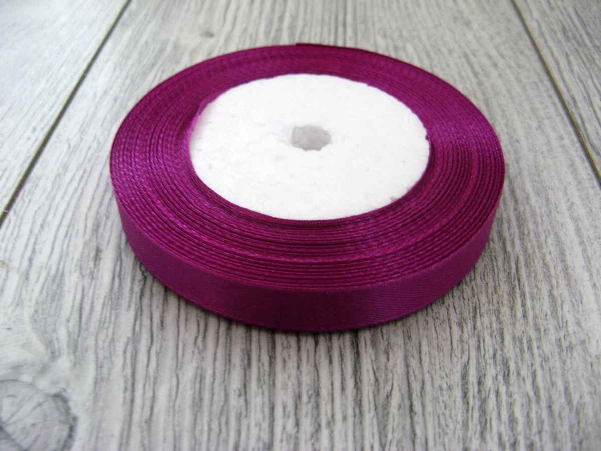 Saténová stuha tmavofialová – Dark Violet – evkakvety-eshop.eu