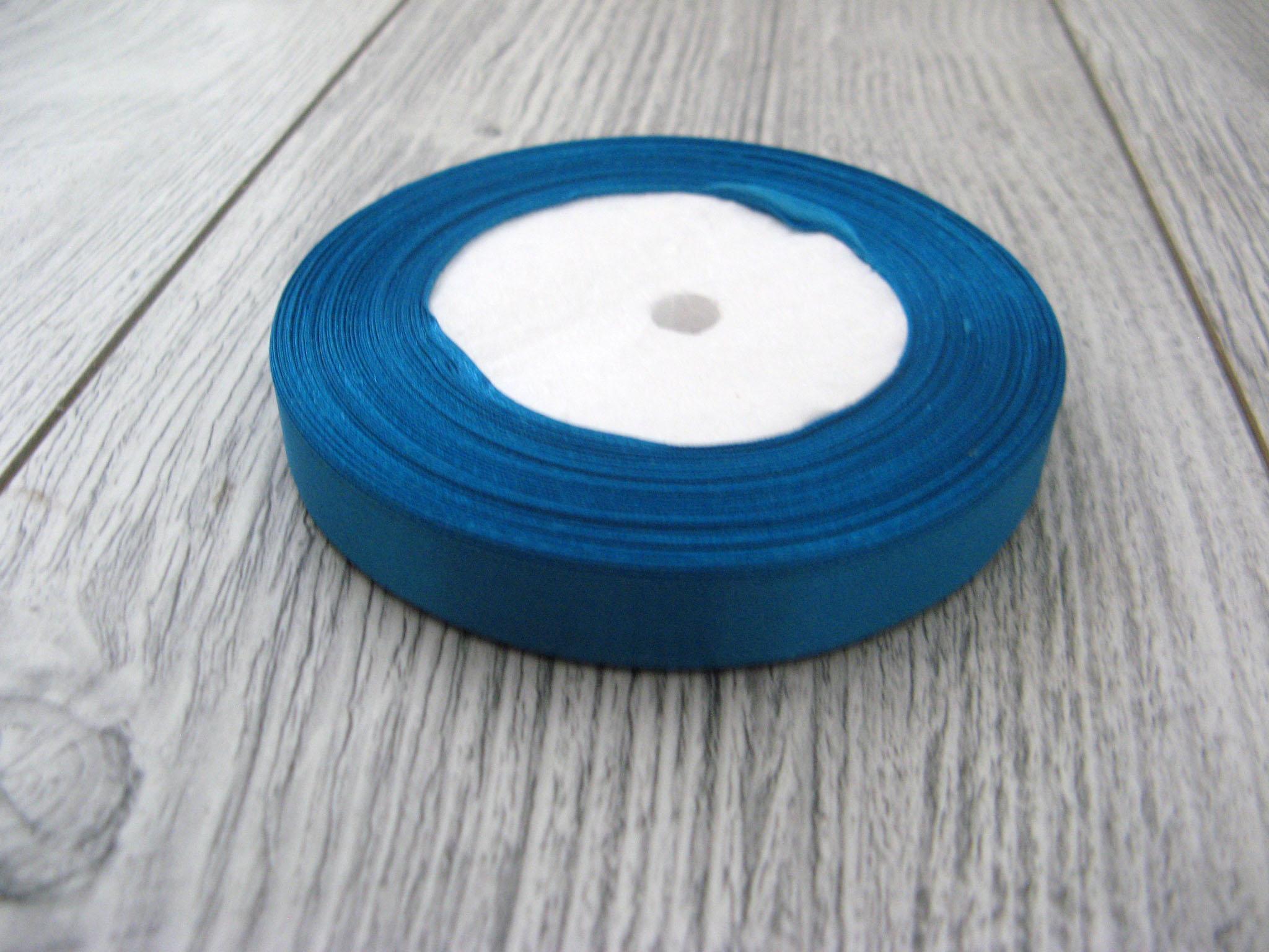 Saténová stuha modrá – Deep Blue – evkakvety-eshop.eu
