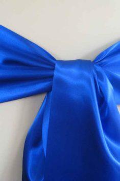 saténová mašľa 16cm modrá - 11 - 1.obr. - evkakvety-eshop.eu