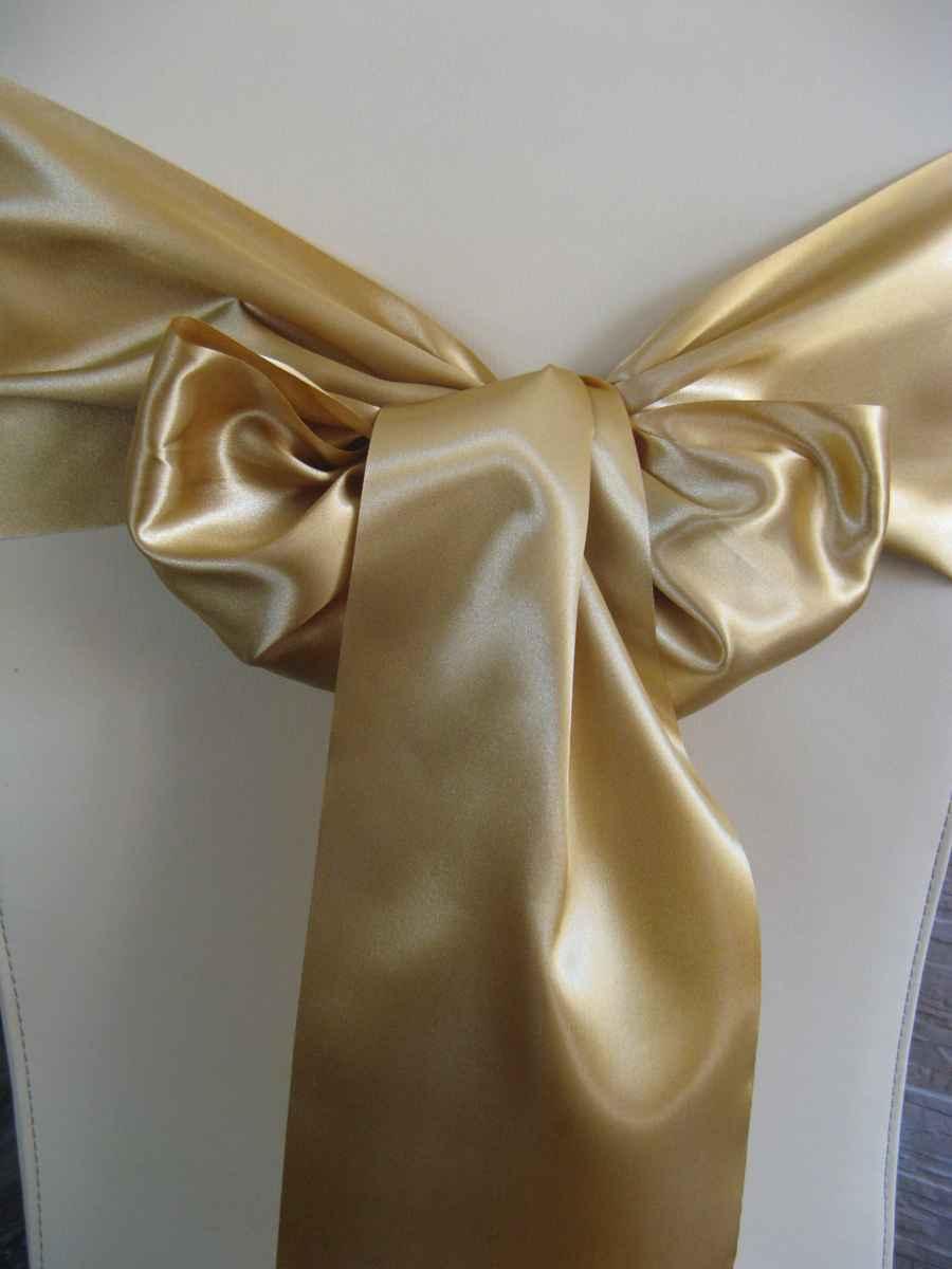 saténová mašľa 16cm zlatá - 12 - 2.obr. - evkakvety-eshop.eu
