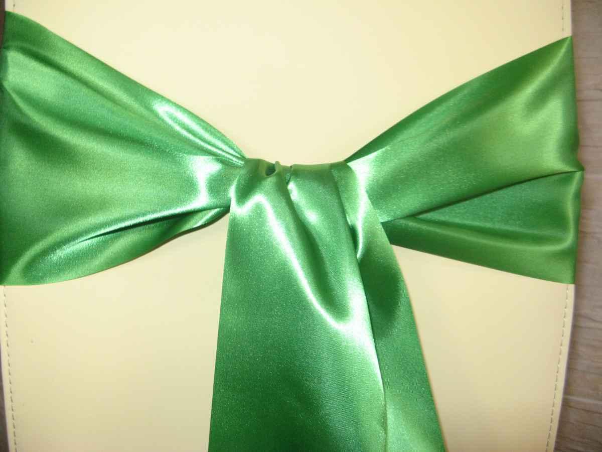 saténová mašľa 16cm zelená - 13 - 1.obr. - evkakvety-eshop.eu