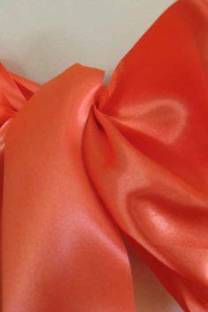 saténová mašľa 16cm oranžová - 23 - 3.obr. - evkakvety-eshop.eu