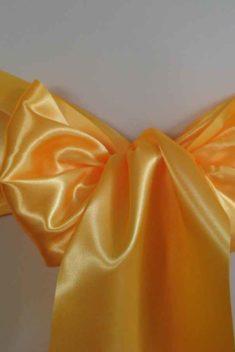saténová mašľa 16cm žltooranžová - 34 - 1.obr. - evkakvety-eshop.eu