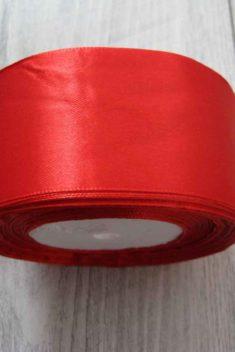 Červená stuha 50mm x 32m č.2 - evkakvety-eshop.eu