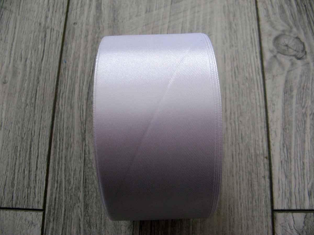 Saténová stuha biela - White 50mm x 32m obr.3 - evkakvety-eshop.eu