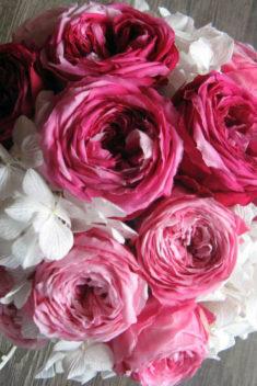 Kytica zo stabilizovaných kvetov - handmade.evkakvety-eshop.eu