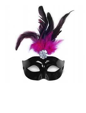 Maska s perím obr.1 - evkakvety-eshop.eu