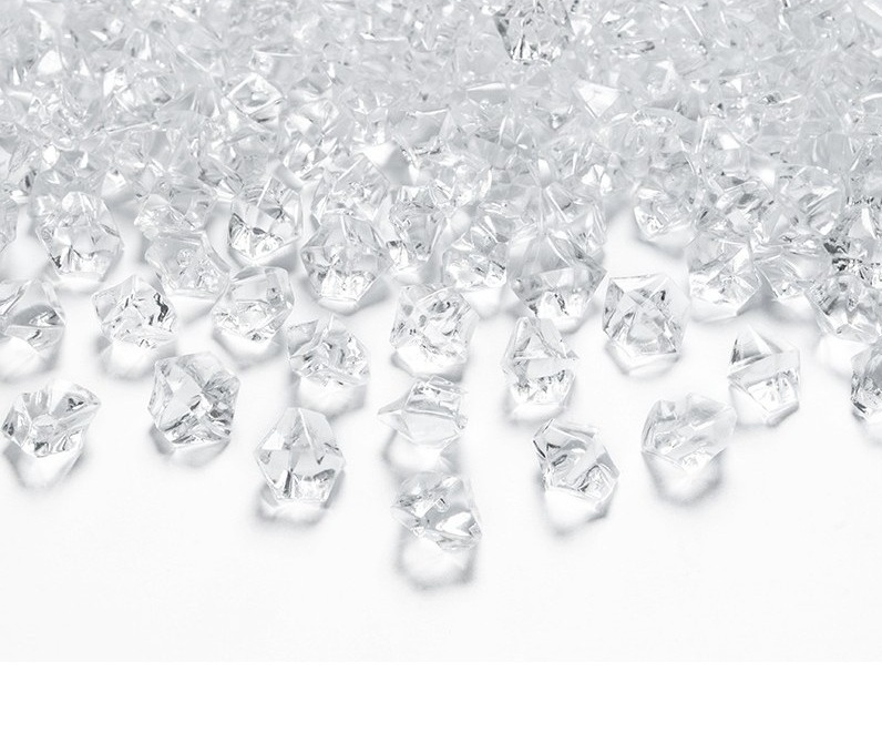 Priesvitný_ľad 1,4×1,1cm 40ks – evkakvety-eshop.eu