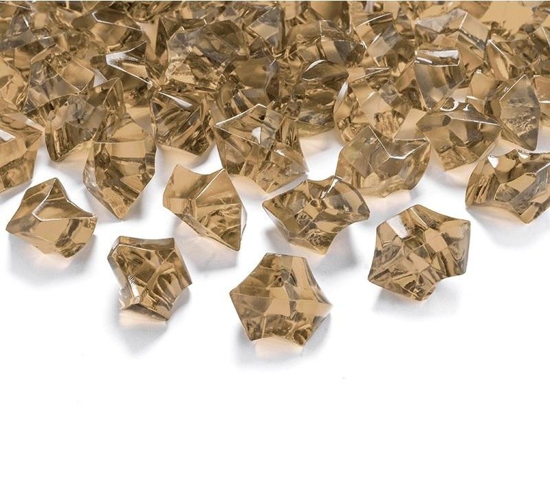 Zlatý ľad 2,5×2,1cm 50ks obr.1 – evkakvety-eshop.eu