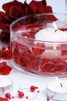 Červený ľad 2,5x2,1cm 50ks obr.2 - evkakvety-eshop.eu