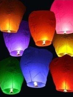 Lampión šťastia mix farieb 10ks - evkakvety-eshop.eu