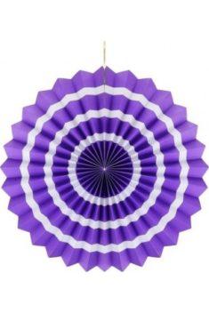 Rozeta fialová s pásikmi 40cm - evkakvety-eshop.eu