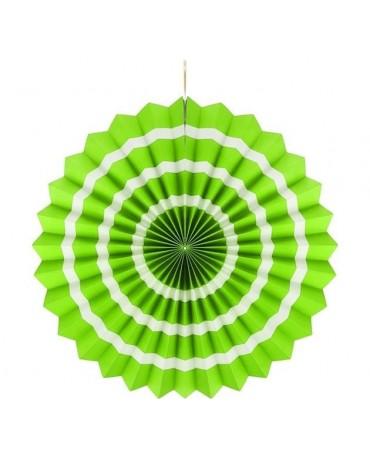 Rozeta zelená s pásikmi 40cm - evkakvety-eshop.eu