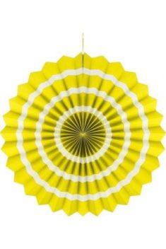 Rozeta žltá s pásikmi 40cm - evkakvety-eshop.eu