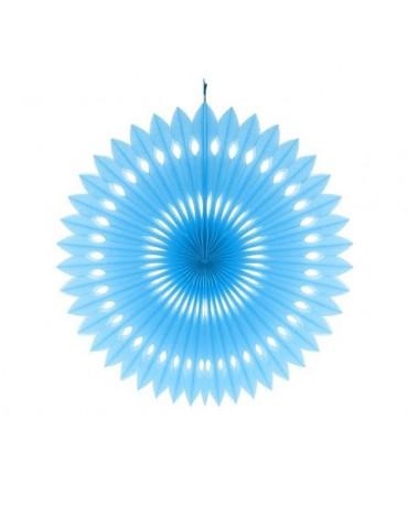 Rozeta svetlomodrá 40cm - evkakvety-eshop.eu