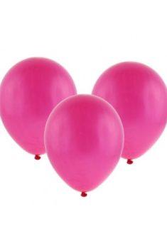 Latexový balón pastelový tmavoružový 30cm - evkakvety-eshop.eu