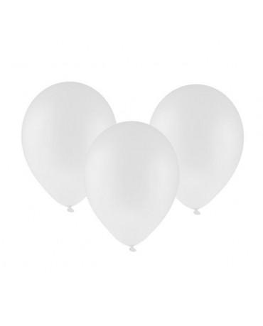 Latexový balón pastelový biely 30cm - evkakvety-eshop.eu
