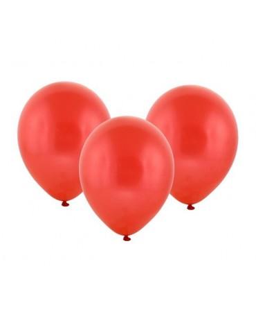 Latexový balón pastelový červený 30cm - evkakvety-eshop.eu