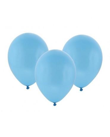 Latexový balón pastelový modrý 30cm - evkakvety-eshop.eu