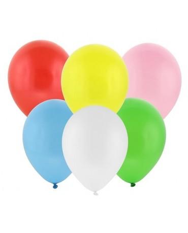 Latexové balóny pastelové mix farieb 30cm 100ks - evkakvety-eshop.eu