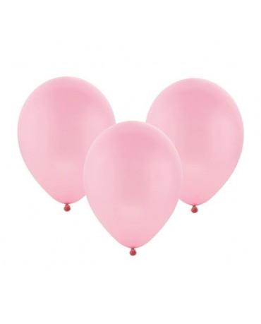 Latexový balón pastelový ružový 30cm - evkakvety-eshop.eu