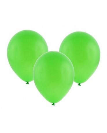 Latexový balón pastelový zelený 30cm - evkakvety-eshop.eu