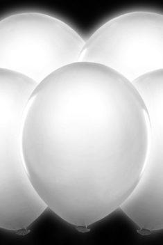 Latexové balóny svietiace led biele 30cm 5ks - evkakvety-eshop.eu