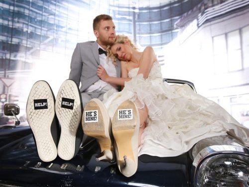Nálepky na topánky Help 2ks - evkakvety-eshop.eu