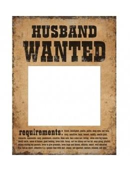 Rekvizity na fotenie Husband Wanted 2ks - evkakvety-eshop.eu