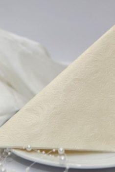 Cream reliéfna servítka 1 - evkakvety-eshop.eu