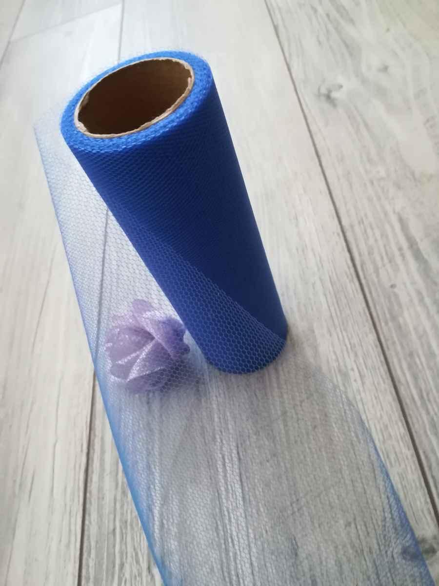 kráľovský modrý tyl - obr.4 - evkakvety-eshop.eu