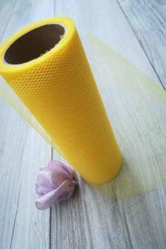 žltý tyl - obr.3 - evkakvety-eshop.eu