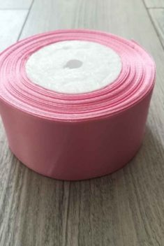 Saténová stuha ružová - Pink 50mmx32m obr.1 - evkakvety-eshop.eu