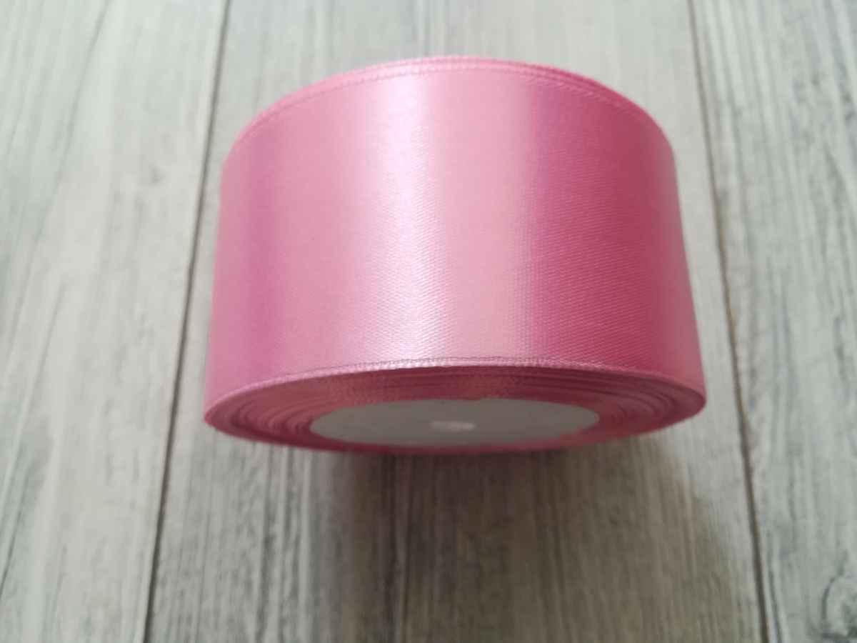 Saténová stuha ružová - Pink 50mmx32m obr.2 - evkakvety-eshop.eu