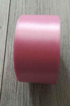 Saténová stuha ružová - Pink 50mmx32m obr.3 - evkakvety-eshop.eu