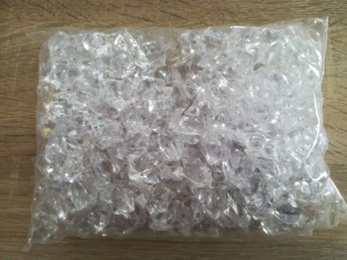 Dekoračný ľad priesvitný 2,3cmx1,8cm - 400g - evkakvety-eshop.eu