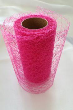Pavučinová organza cyklámenová - Strong Pink - evkakvety-eshop.eu