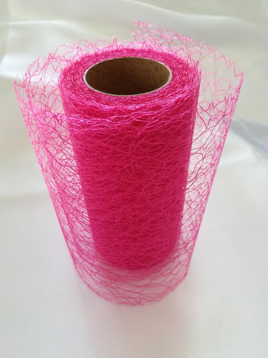 Pavučinová organza cyklámenová – Strong Pink – evkakvety-eshop.eu
