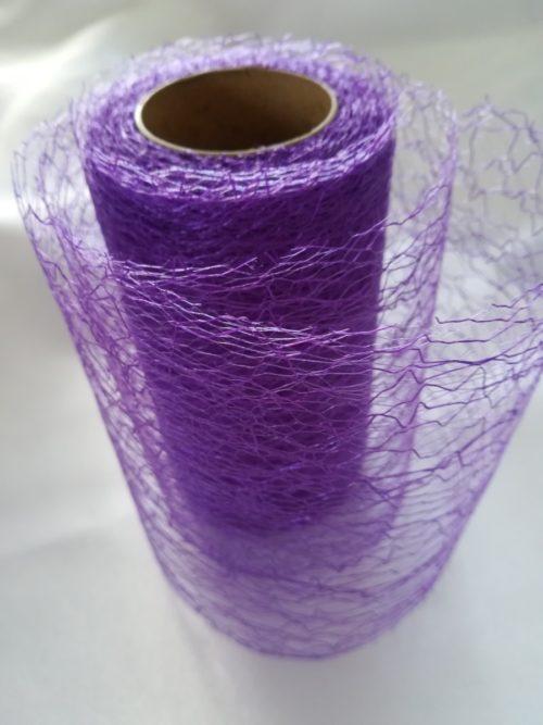 Pavučinová organza fialová - Violet - evkakvety-eshop.eu