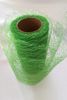 Pavučinová organza zelená - Green - evkakvety-eshop.eu