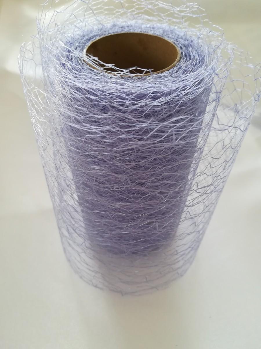 Pavučinová organza svetlá lila – Purple Heathe – evkakvety-eshop.eu