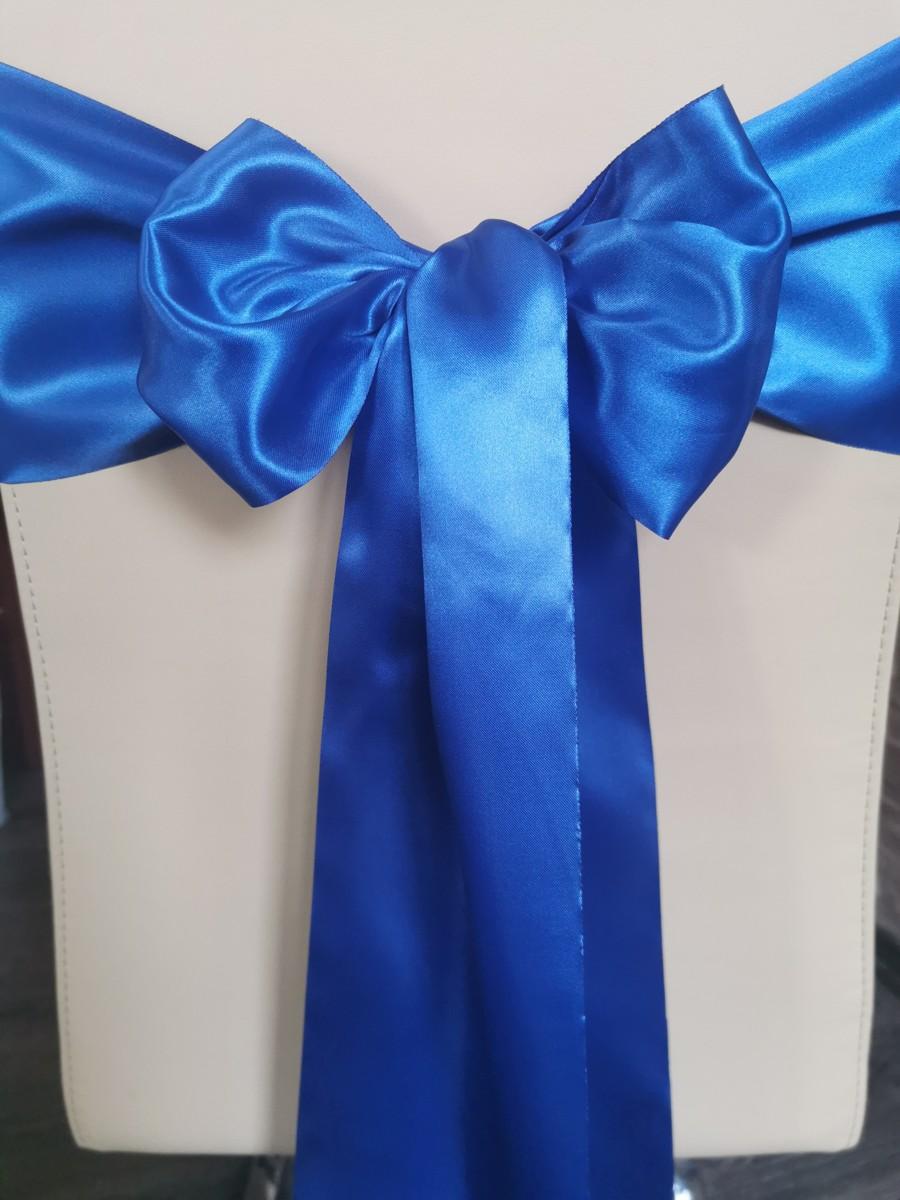 Satén - Kráľovská modrá - Royal Blue - 15,5cm - evkakvety-eshop.eu